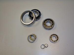 Magneto bearings