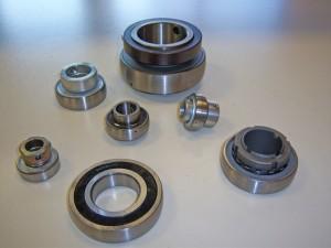 Radial insert ball bearings