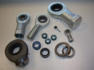 Spherical plain bearings, rod ends.