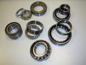 Rodamientos de rodillos cilíndricos de una y dos hileras